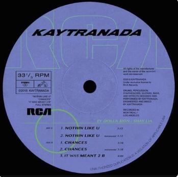 Kaytranada - Nothin Like U / Chances (EP)