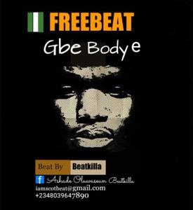 Instrumental: Beatkilla - Gbe Body É (Prod. By Beatkilla)