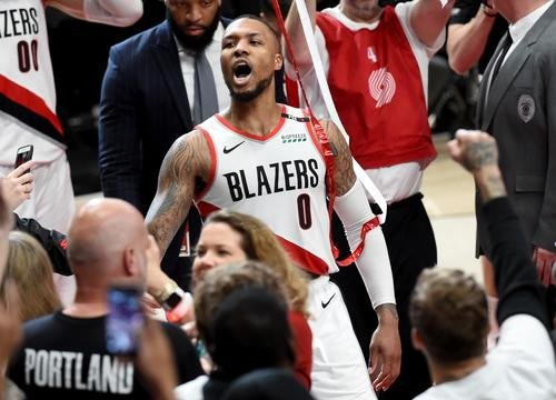 News: Damian Lillard Waves Goodbye To The Thunder After Last Second Dagger