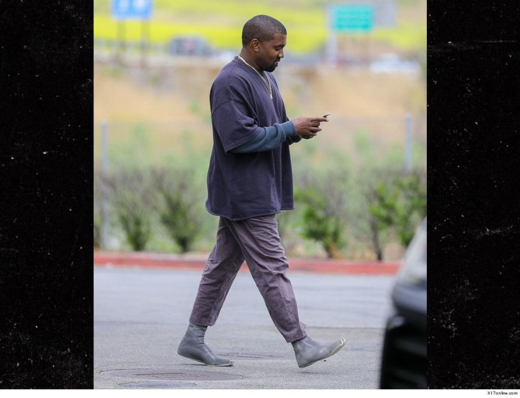 News: Kanye West Steps Out In Unreleased Sock-Like Prototype
