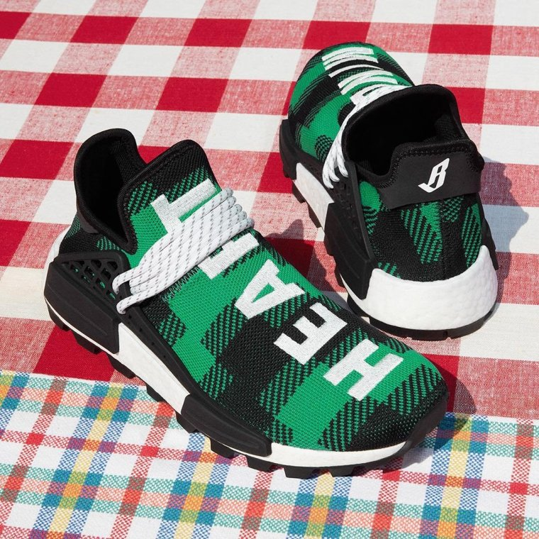 News: Pharrell Adidas NMD Hu X BBC Releasing In Plaid Colors This Friday