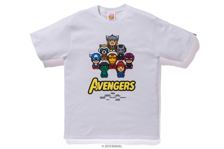 News: BAPE x Marvel Comics Collection Releasing In Honor Of Avengers Endgame