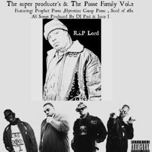 New Album: Three 6 Mafia, Lil Wyte, Project Pat - The Super Producer's Featuring The Posse Family Vol. 2