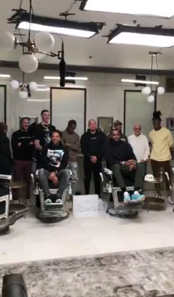 News: Travis Scott, Lonzo Ball & Others To Join LeBron On New Episode Of The Shop