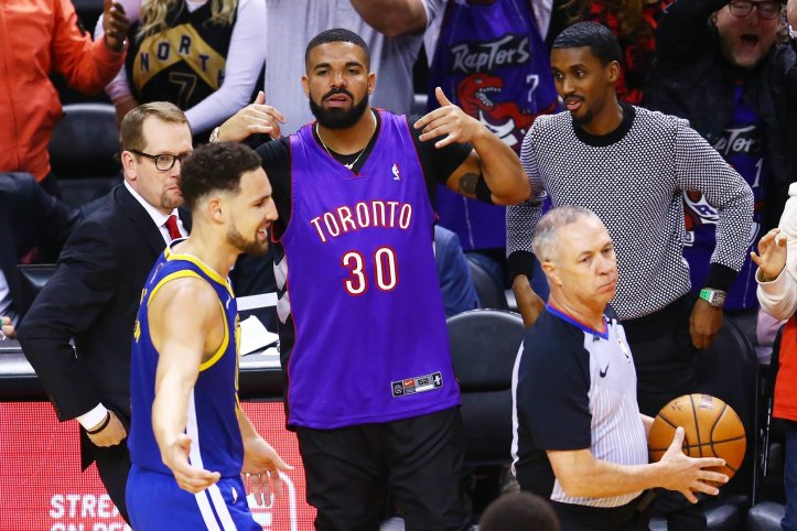 News: Drake Reportedly Calls Draymond Green Trash Following Raptors Game 1 Win