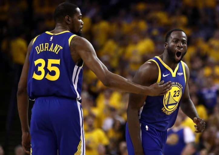 News: Draymond Green Credits Kevin Durant & His Son For His Improved Behavior