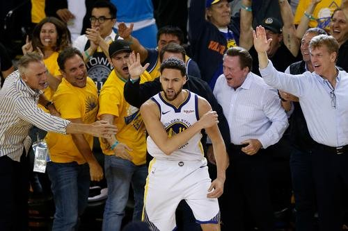 News: Klay Thompson Appears Out Of Bounds During Pivotal Warriors Possession