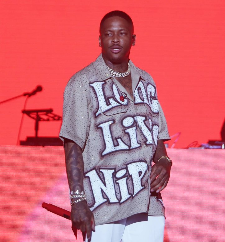 News: YG Gives A Closer Look At His Rolling Loud Nipsey Hussle Tribute Shirt