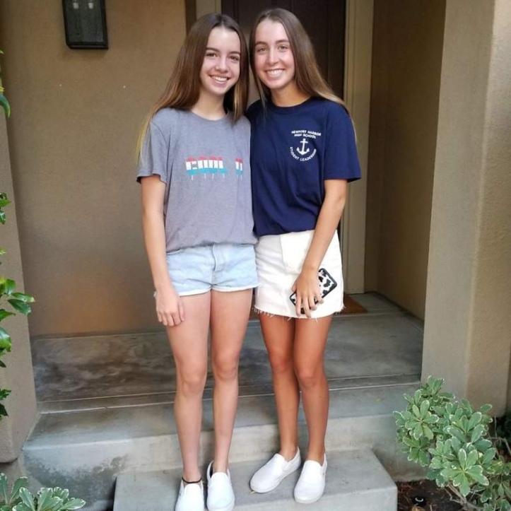 The two Altobelli daughters.