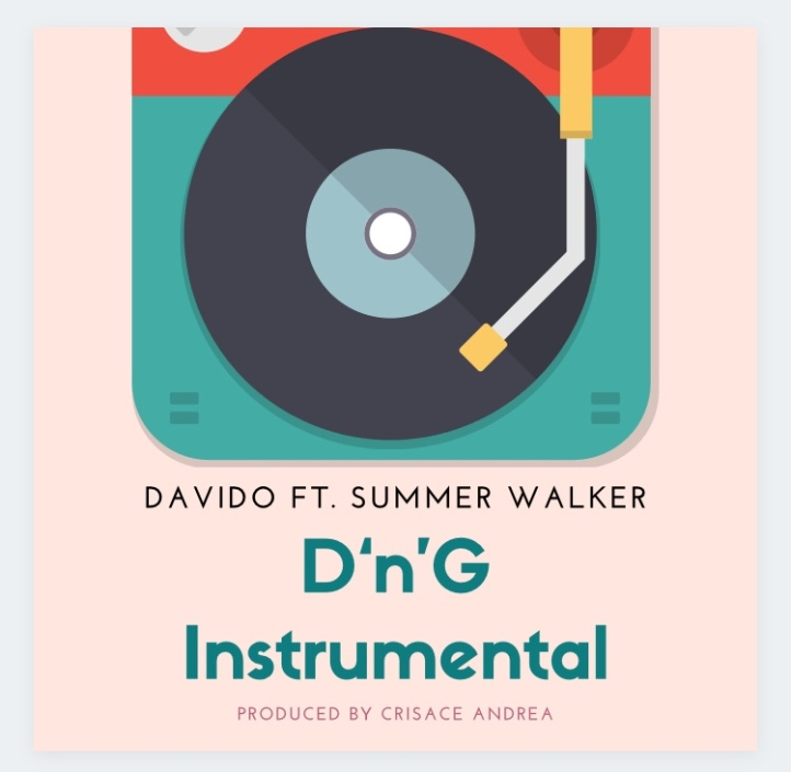 Instrumental: Davido Ft Summer Walker - D&G (Prod By Crisace Andrea)