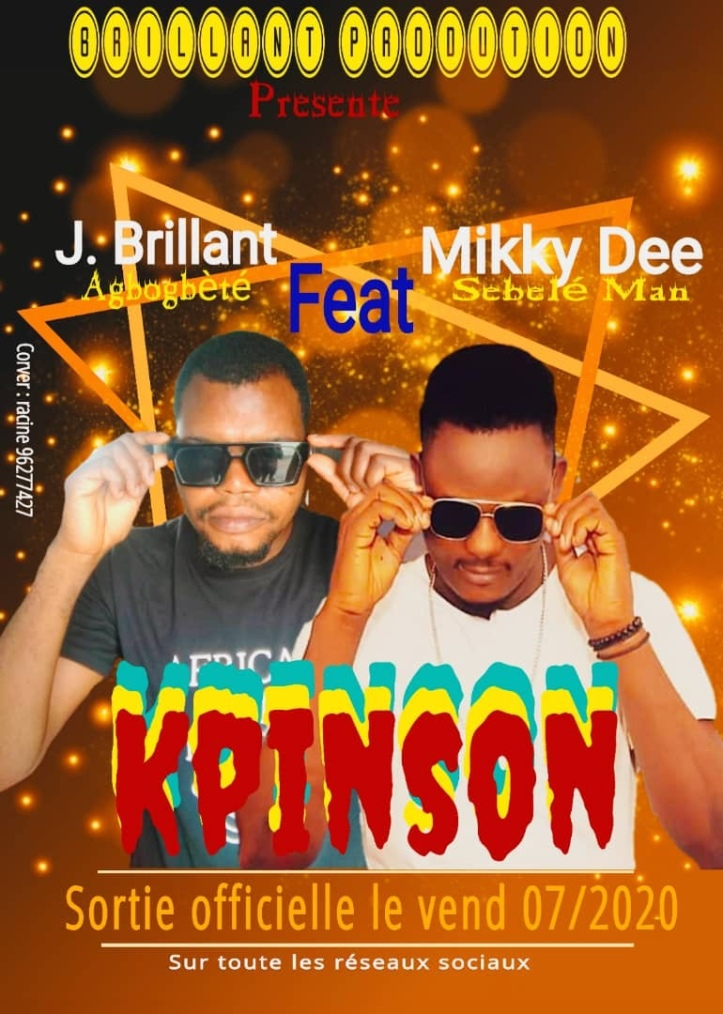 New Music: J. Brillant - Kpinson Ft. Mikky Dee (Prod. By Mikky Dee)